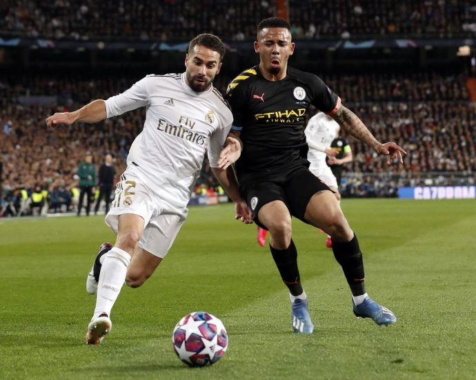 Duel Manchester City vs Real Madrid dan Juventus vs Lyon Resmi Ditunda