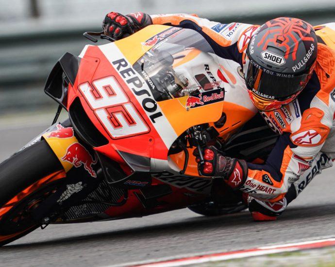 'Marc Marquez Diblokir Ducati Usai Cekcok dengan Valentino Rossi'