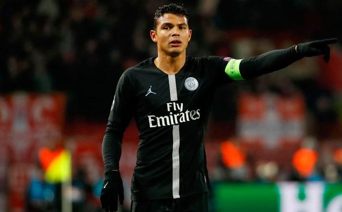 Thiago Silva Tinggalkan PSG, AC Milan Siaga