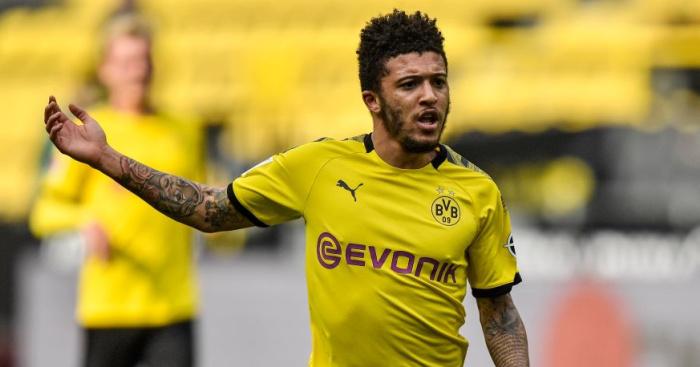Dortmund Tegaskan Jadon Sancho Bertahan, Manchester United Gigit Jari